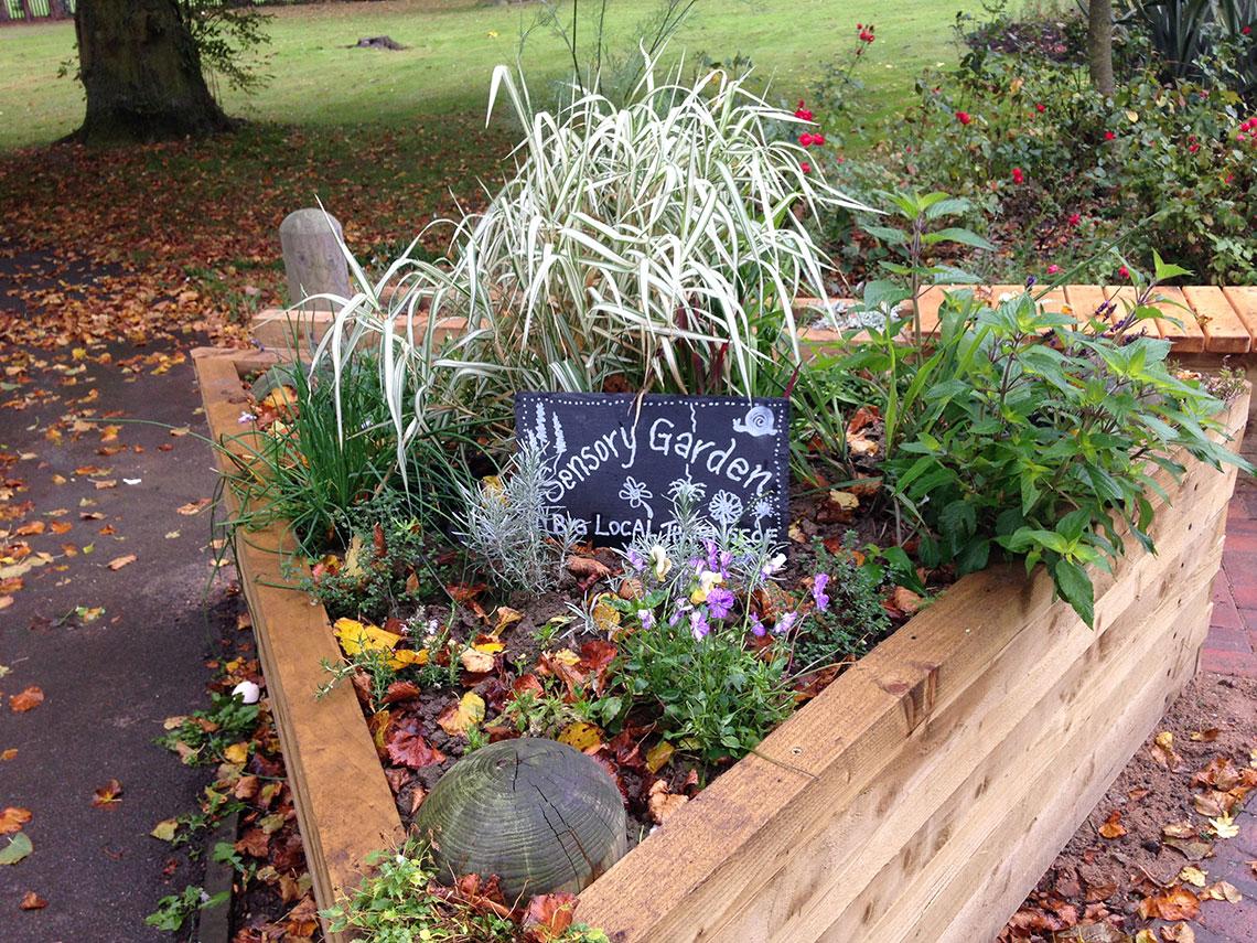 sensory garden thurnscoe park3 - Sensory Garden