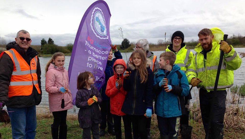 Kids Growing Wild at Thurnscoe Reservoir
