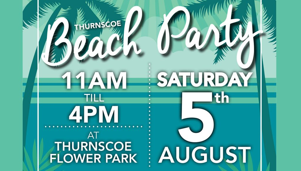 Thurnscoe Beach Party - Saturday 5th August
