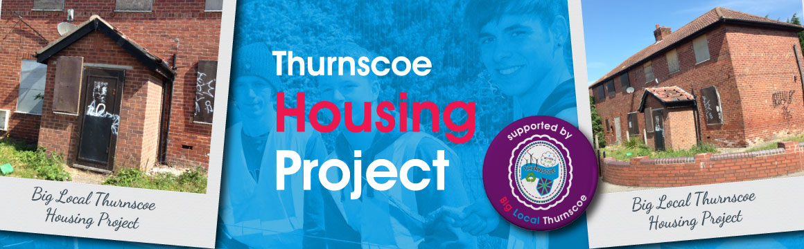 big local thurnscoe housing project banner