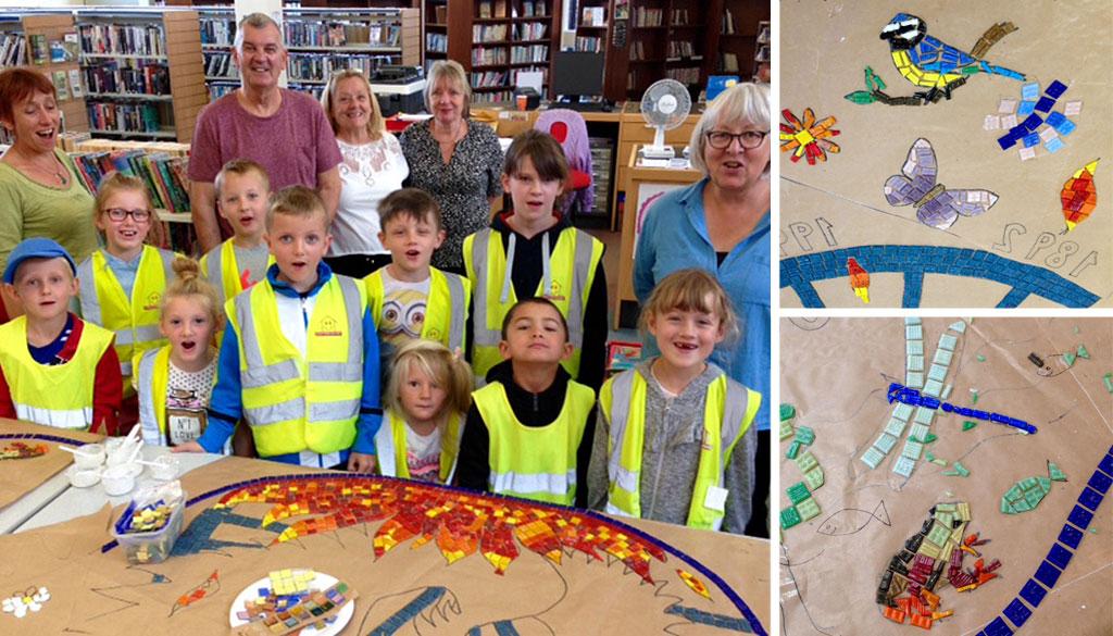 Under the Tracks Community Art Workshops