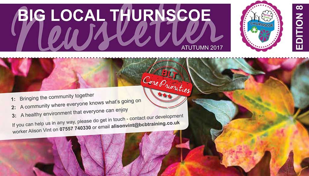 The Big Local Autumn 2017 Newsletter