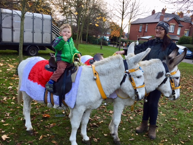 winter-wonderland-2017-thurnscoe-donkey-rides
