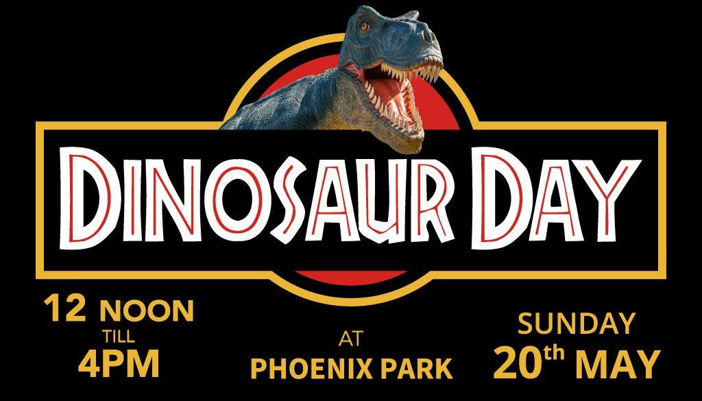 dinosaur day may, phoenix park