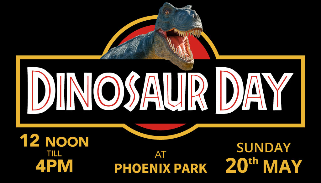 dinosaur day may, phoenix park