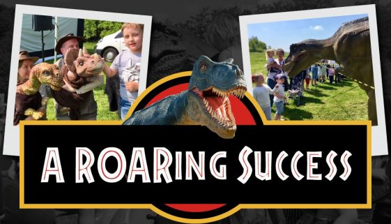 Big Local Thurnscoe's first Dinosaur Day is a ROAR-ing success!
