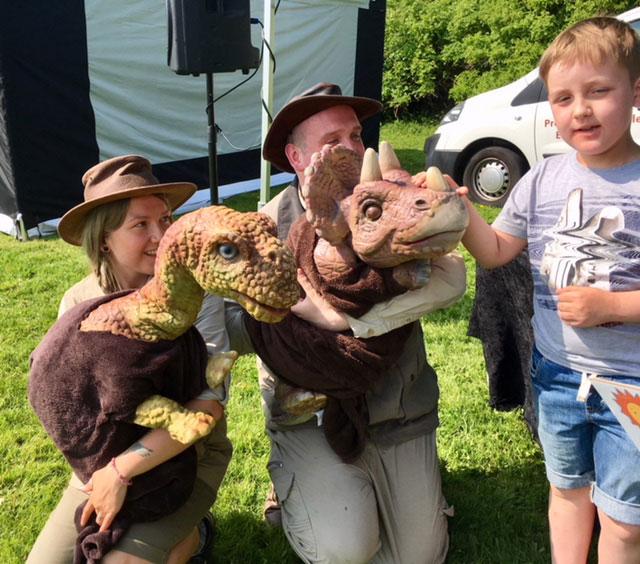 Dinosaur Day Thurnscoe, Dinosaur Babies