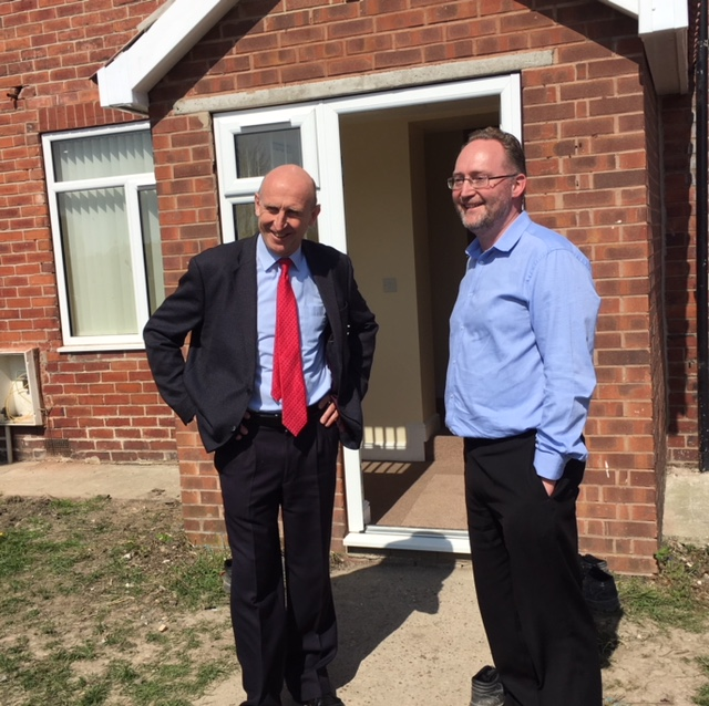 Open Day 20th April with MP John Healey