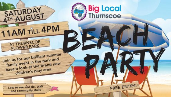 thurnscoe beach party 2018