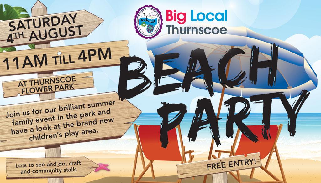 thurnscoe beach party 2018