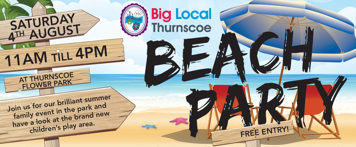 thurnscoe beach party 2018 slide