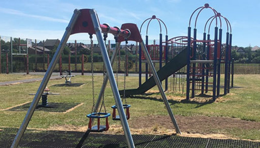 New Equipment at Children's Play Area in Thurnscoe