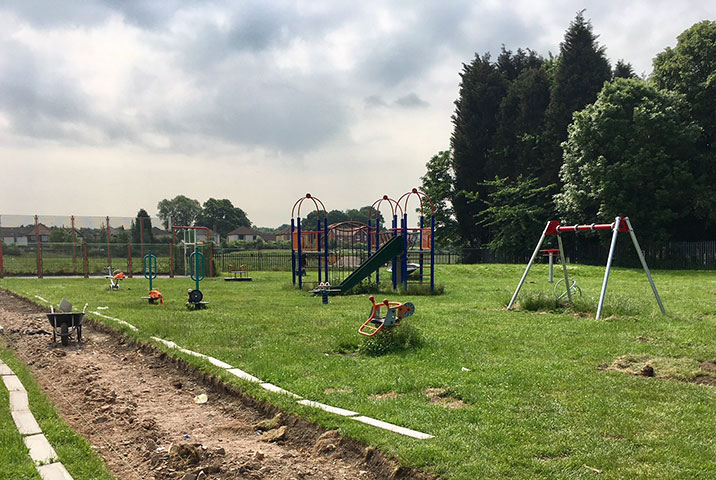 New Children's Play Area in Thurnscoe