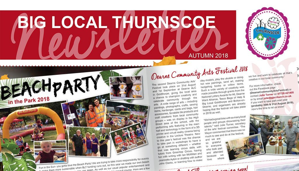 The Big Local Thurnscoe Autumn 2018 Newsletter