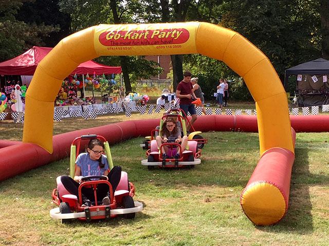 thurnscoe beach party go-kart racing