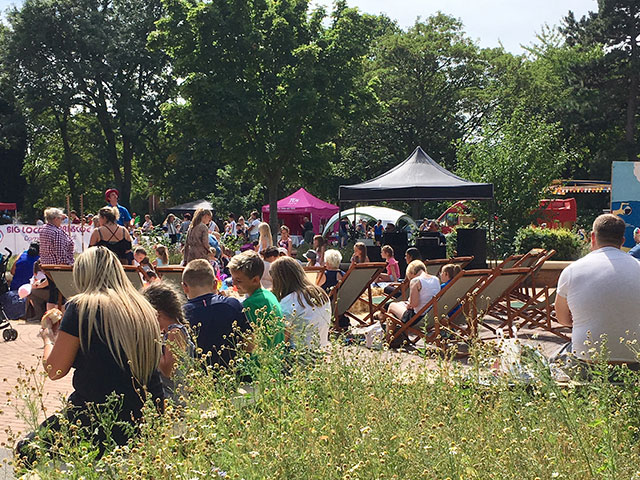 thurnscoe beach party - big local event