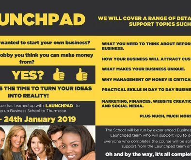 Launchpad Thurnscoe Business Startup