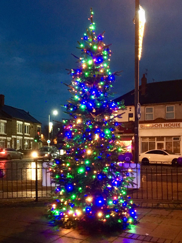 christmas tree thurnscoe christmas lights