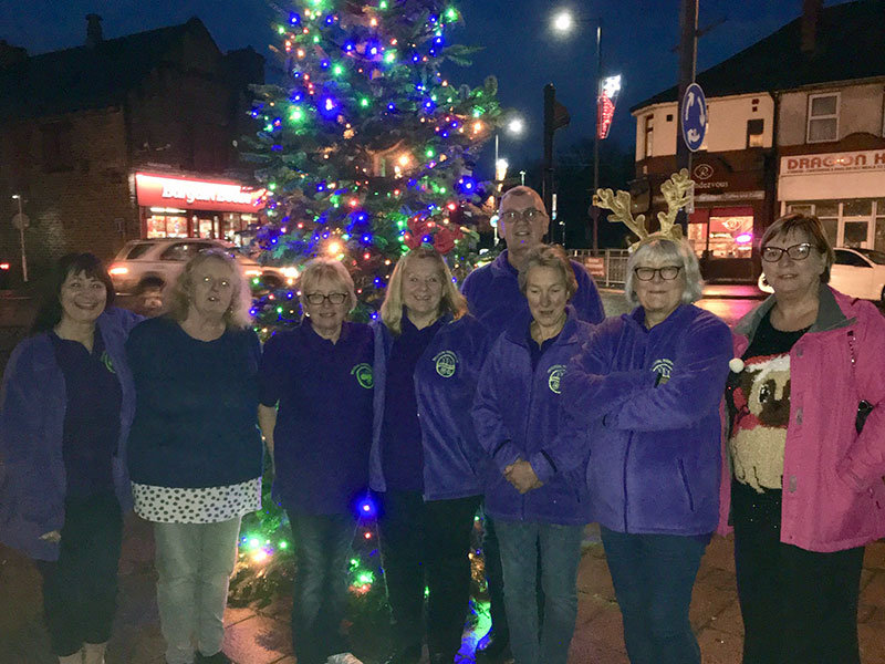 thurnscoe christmas lights big local thurnscoe team