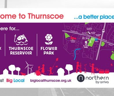 thurnscoe train station big local map