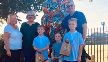 go wild sculpture trail winners