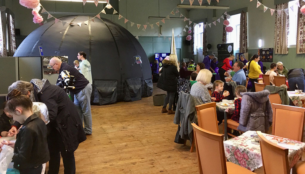 space day event thurnscoe