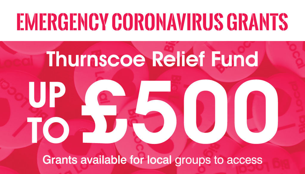 thurnscoe relief fund - coronavirus emergency fund