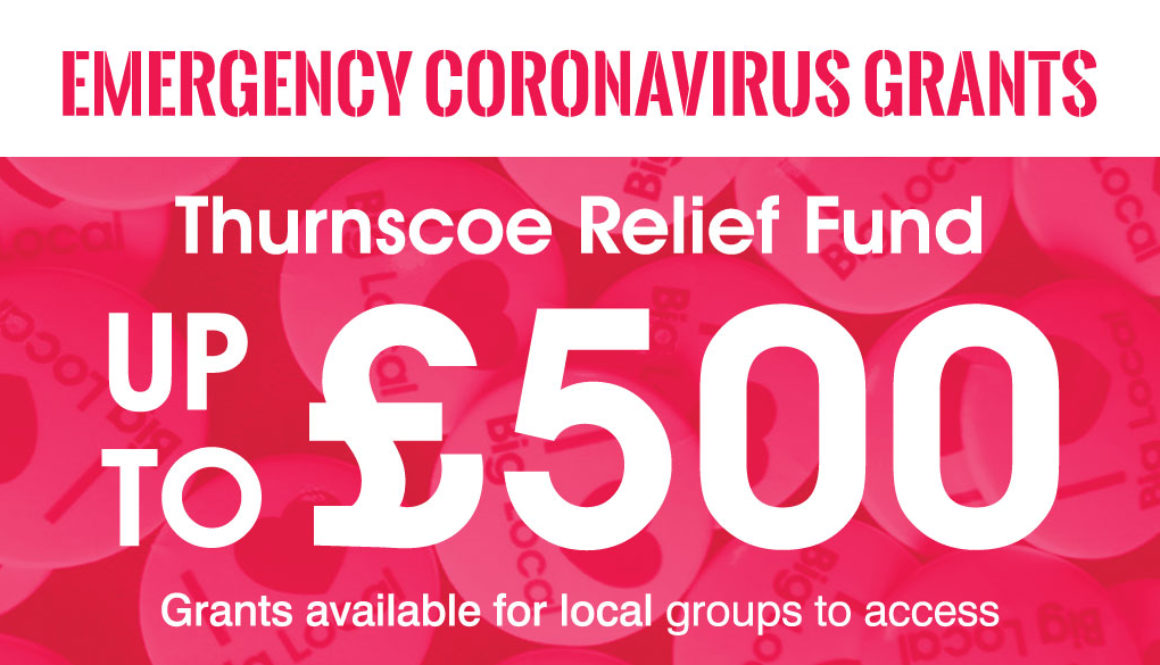 thurnscoe relief fund - coronavirus emergency fund