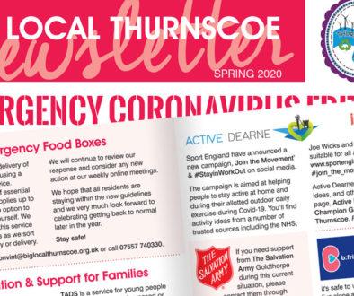 spring 2020 newsletter - emergency coronavirus edition