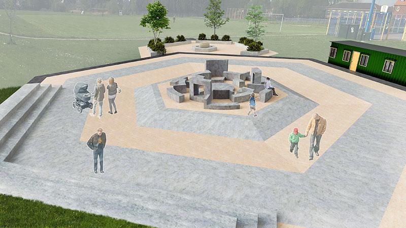 thurnscoe community plaza render1