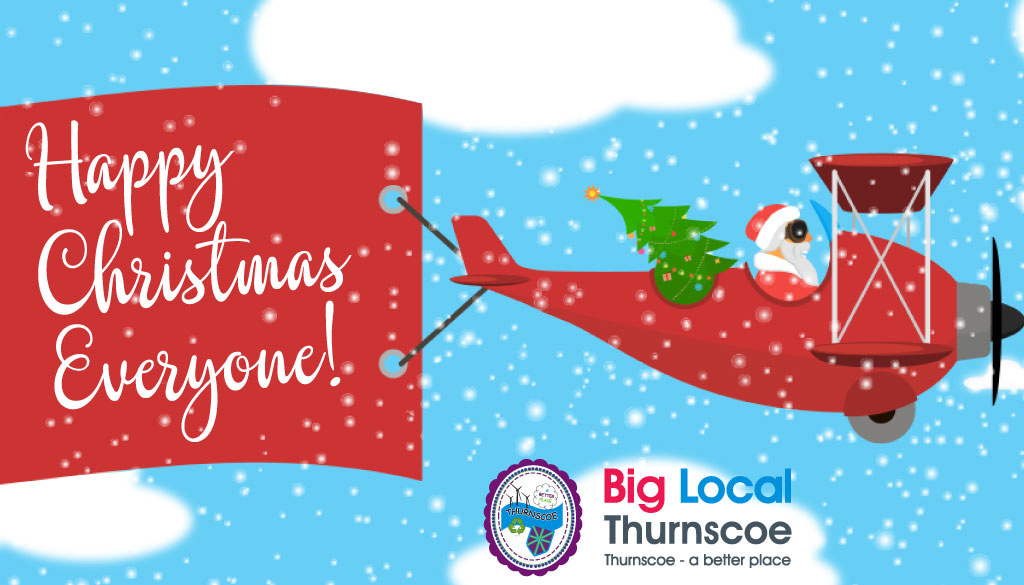 christmas fly past thurnscoe