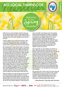big local thurnscoe newsletter cover spring 2021