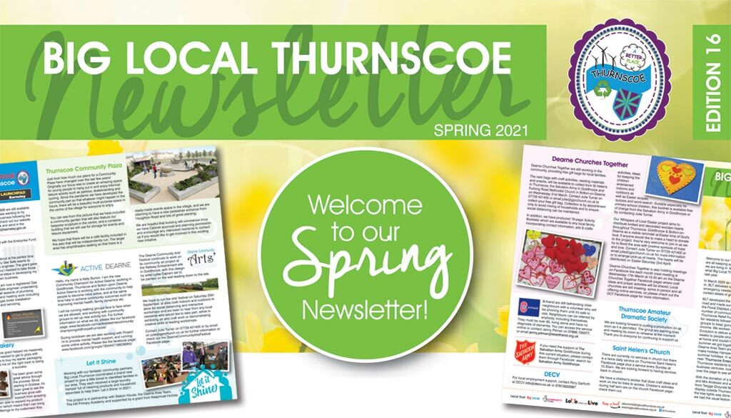 spring 2021 newsletter header