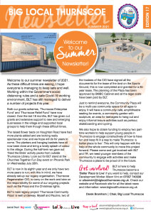 big local thurnscoe newsletter cover summer 2021